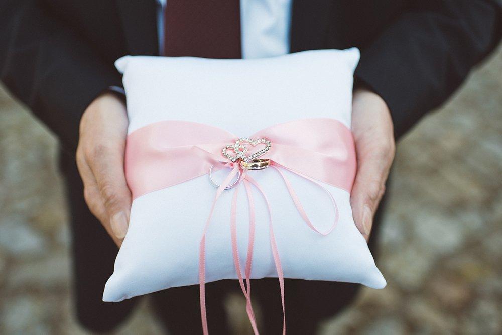 Ringkissen Ringe Trauung Ehe
