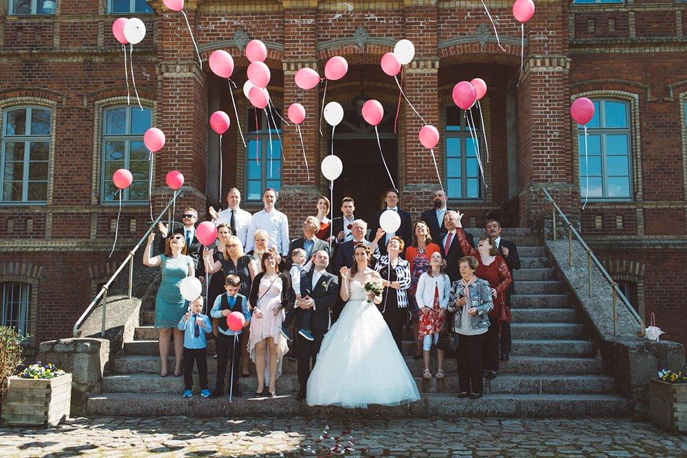 Gruppenfoto Alt Sammit Hochzeit Gruppenfoto