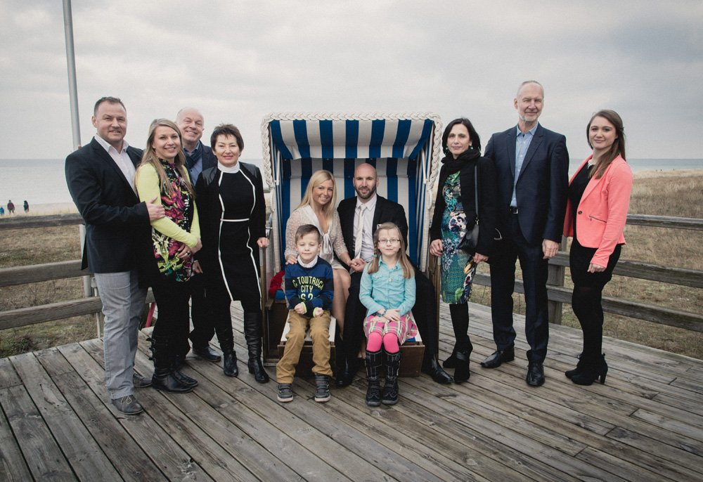 Familienfoto Darß Prerow