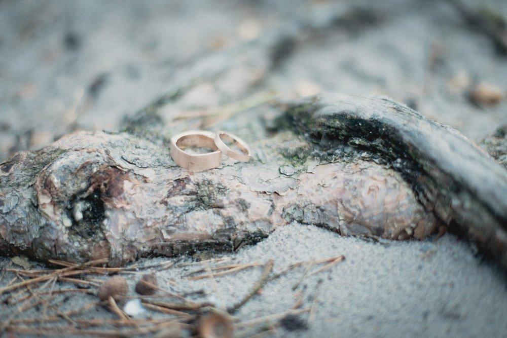Strand Eheringe Foto
