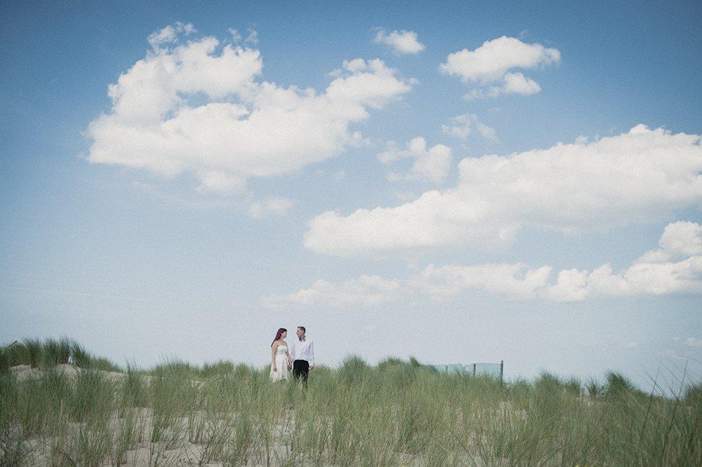 Hochzeitsfoto in Warnemünde