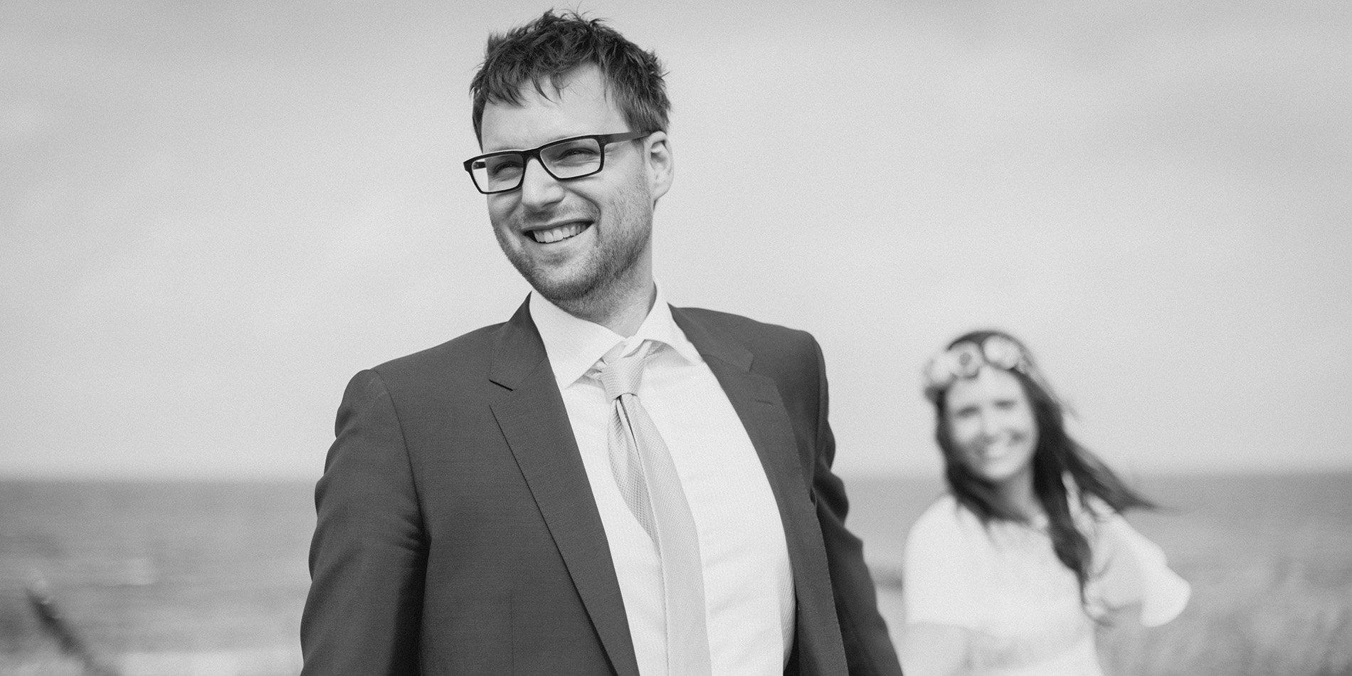 Ahrenshoop Hochzeit Seezeichen Paar