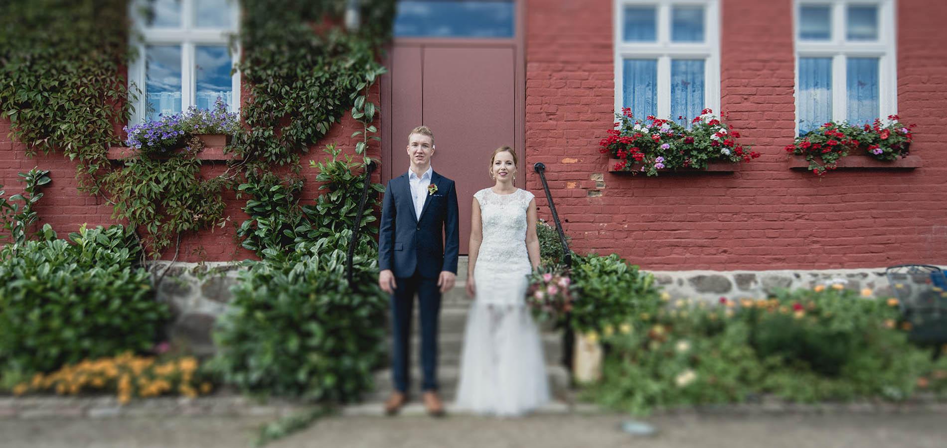 Hochzeit Im Rosendomizil Malchow