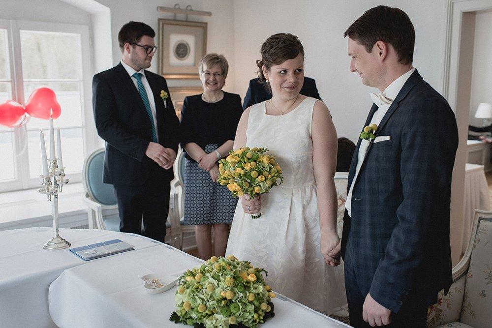 Braut und Bräutigam in Heiligendamm