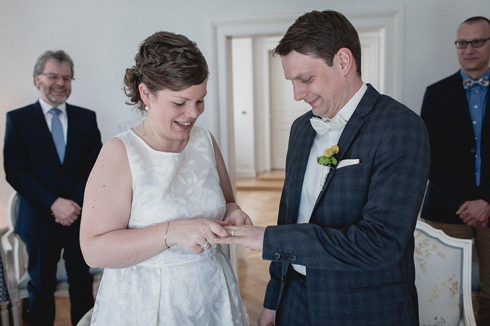 Gran Hotel Heiligendamm Hochzeit Ringübergabe