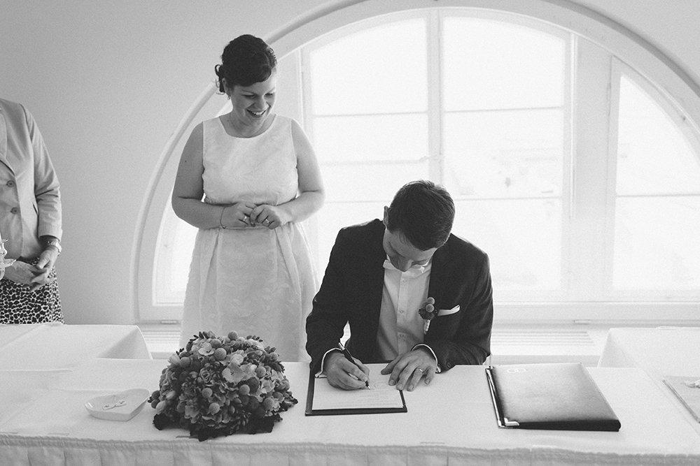 Gran Hotel Heiligendamm Hochzeit Unterschreiben