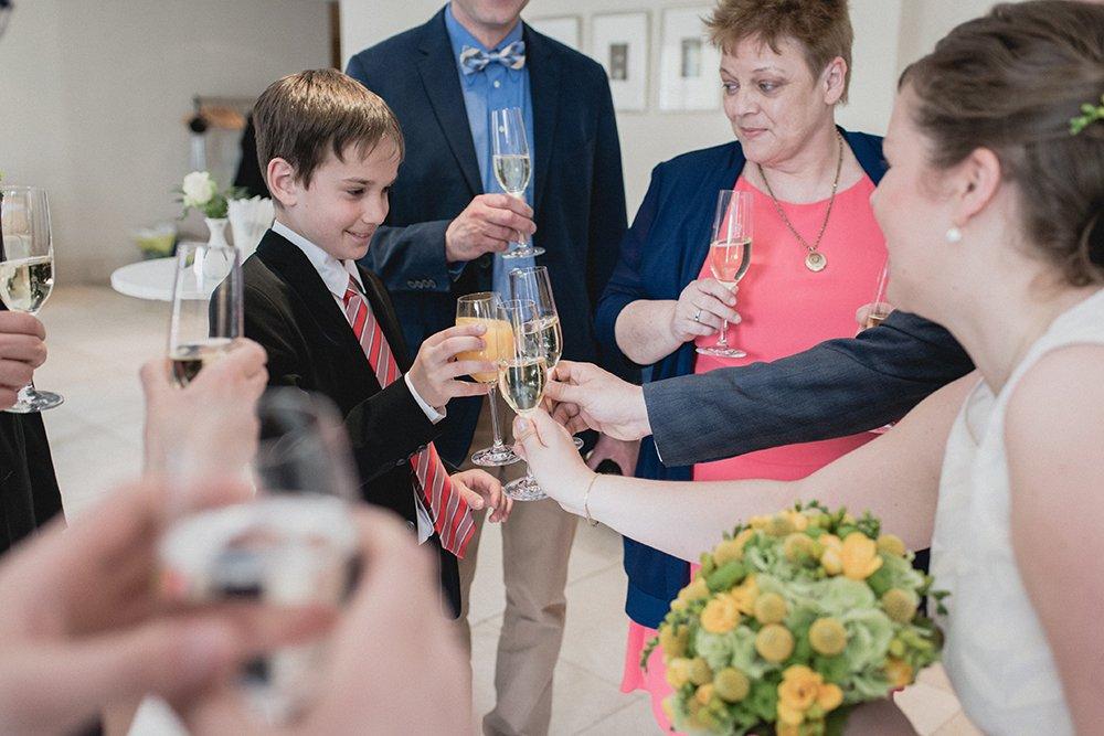 Gran Hotel Heiligendamm Hochzeit Sektempfang