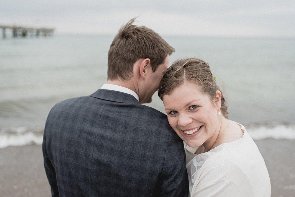 Gran Hotel Heiligendamm Hochzeit Strand Paarfoto