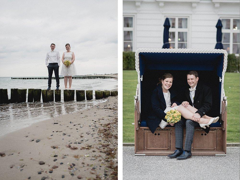 Gran Hotel Heiligendamm Hochzeit Strandkorb