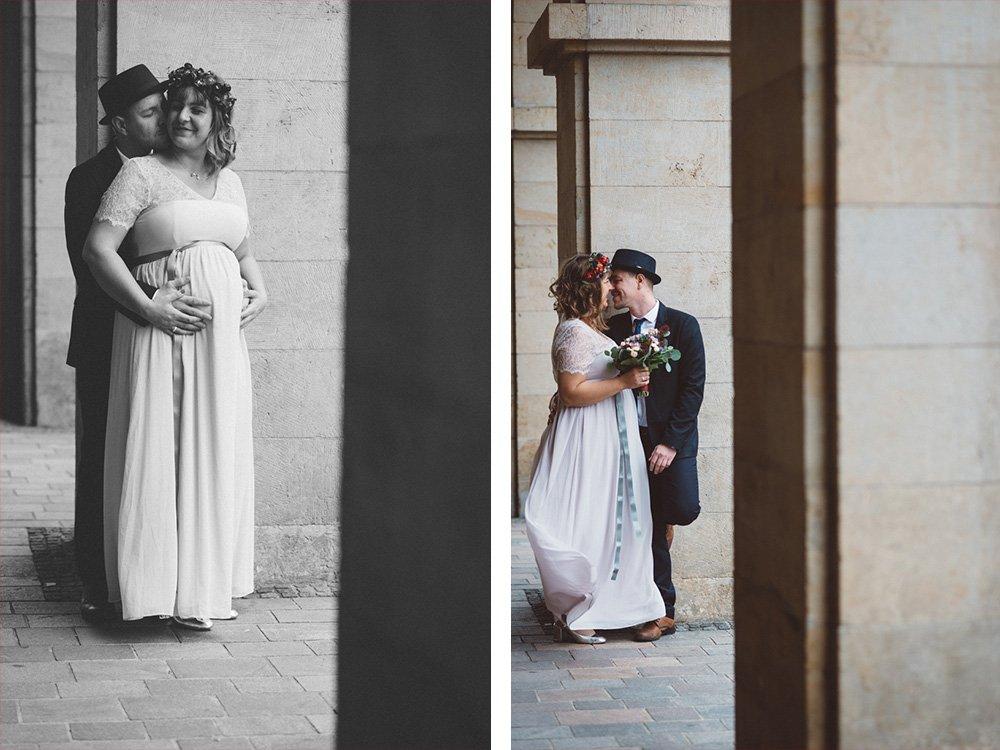 Rostock Standesamt Hochzeit Paar Foto