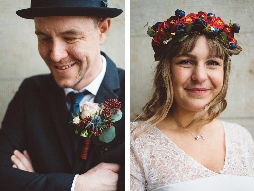 Rostock Fotograf Hochzeit Paar Portrait