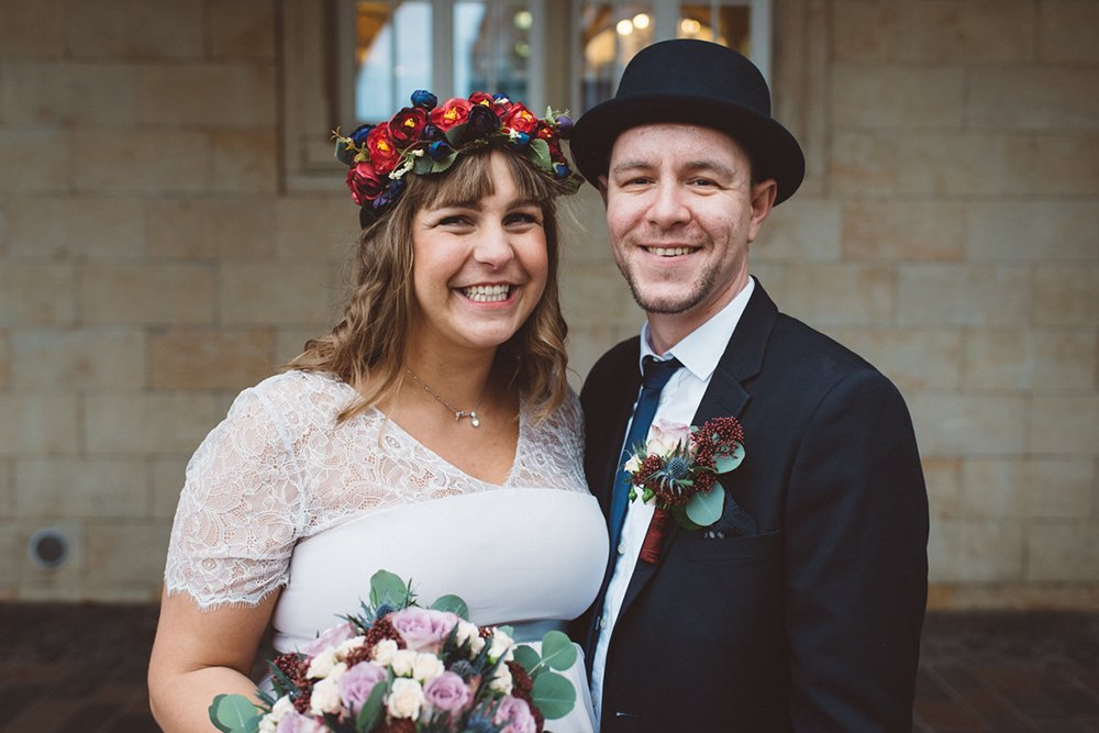 Rostock Hochzeit Paar Foto