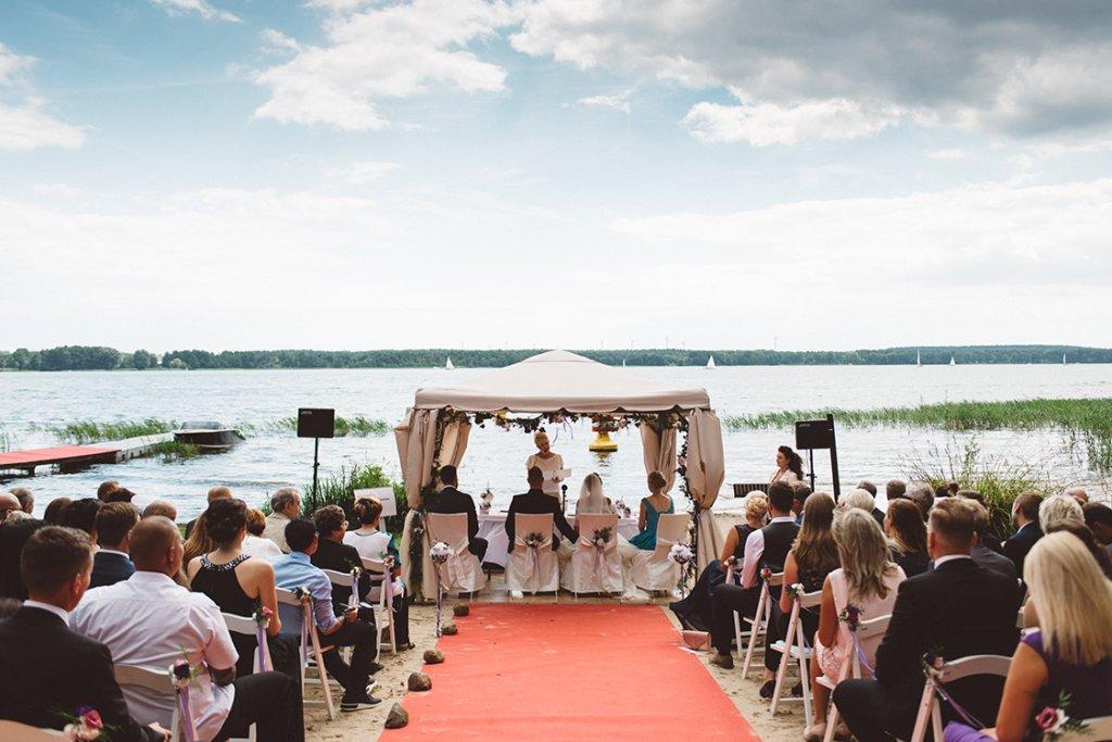 Bad Saarow Hochzeit See Trauung