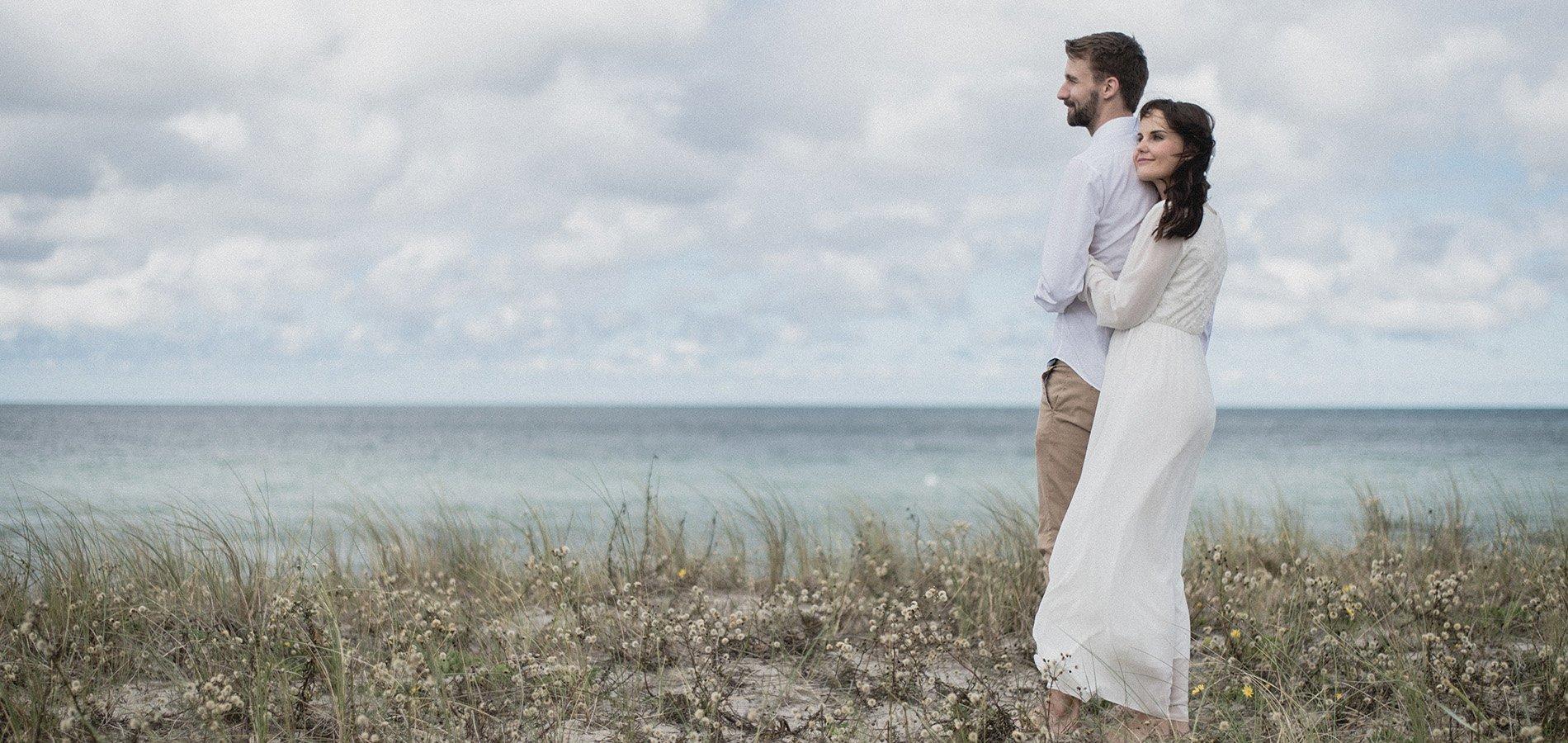 Heiraten Am Strand Von Ahrenshoop – Einsam Und Intim